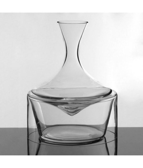 DECANTER with base for white wine