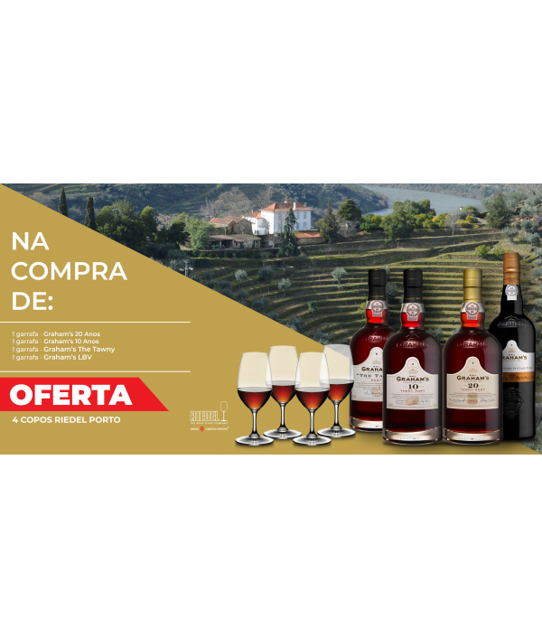 PACK VINHO DO PORTO GRAHAM'S