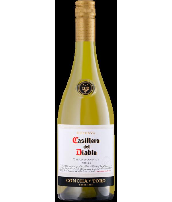 CASILLERO DEL DIABLO Chardonnay white 2018