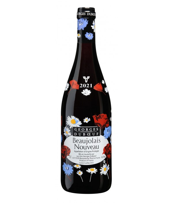 Beaujolais Noveau GEORGES DUBOEUF red 20...