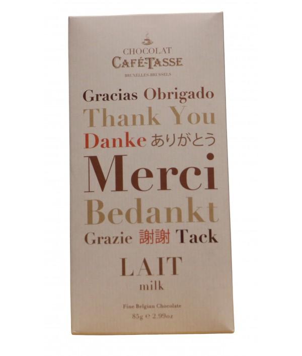 Chocolate CAFÉ-TASSE Lait