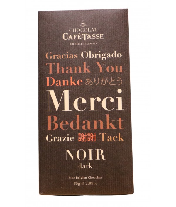 Chocolate CAFÉ-TASSE Noir