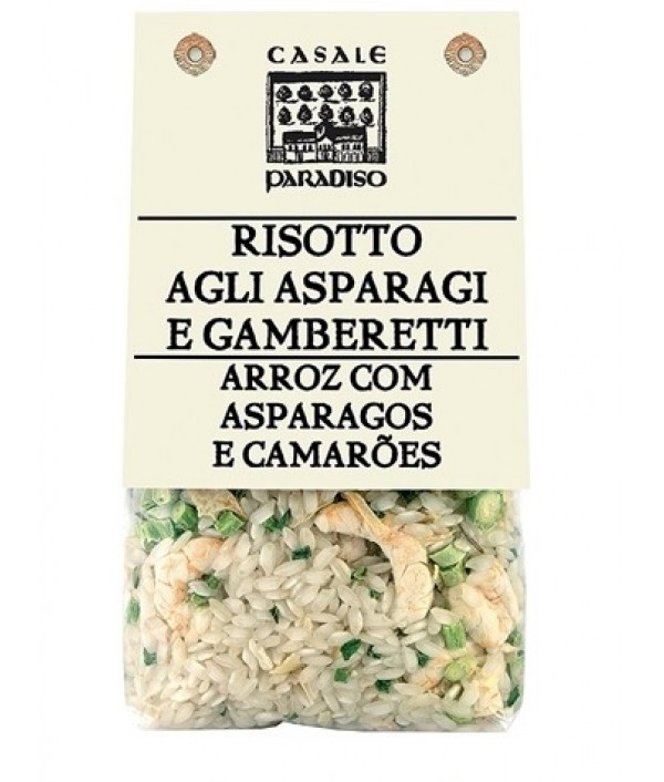 RISOTTO WITH ASPARAGUS AND GAMBAS Casale...