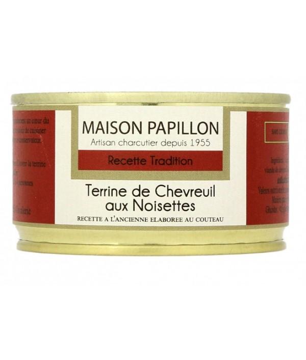 MAISON PAPILLON Terrine de cerf aux noisettes