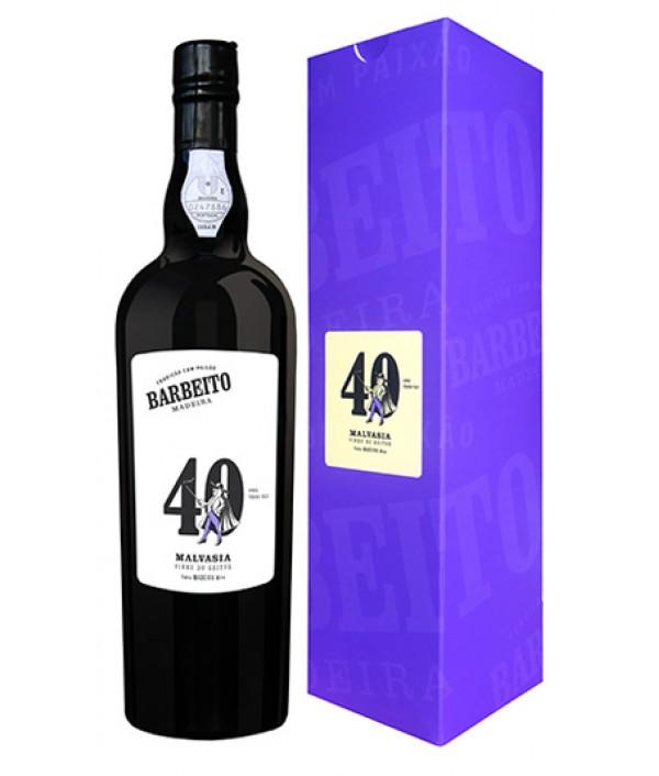 BARBEITO 40 Years Malvasia Vinha do Reitor - Madeira Island