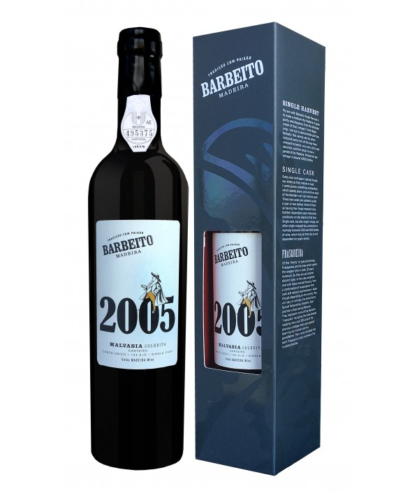 BARBEITO Single Harvest Malvasia 2005 Si...