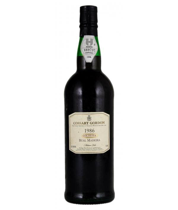 COSSART GORDON Bual 1986 - Madeira Wine