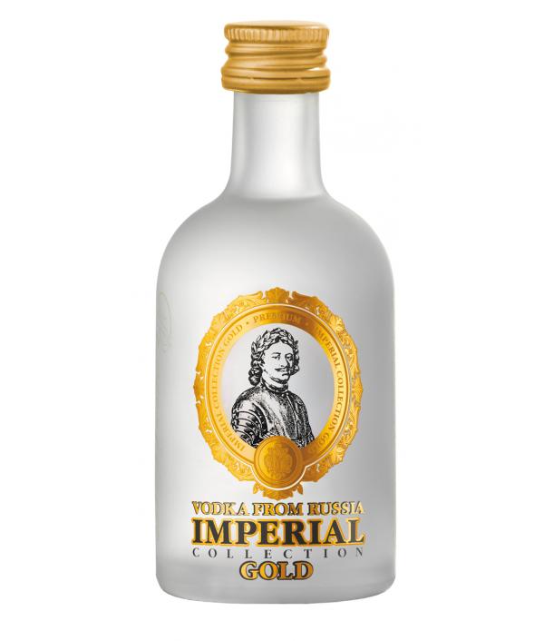 Vodka IMPERIAL GOLD Mini