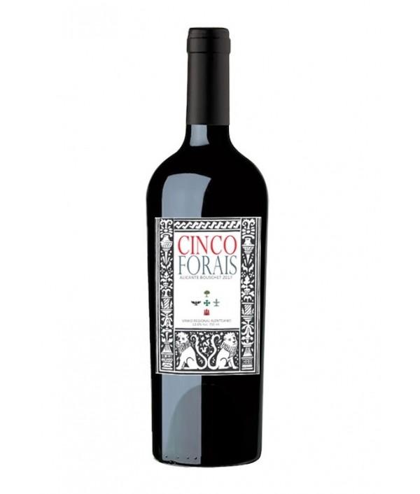 CINCO FORAIS Alicante Bouschet Reserva t...