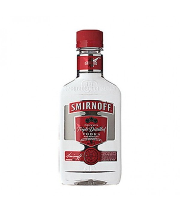 SMIRNOFF Red Hip Flask
