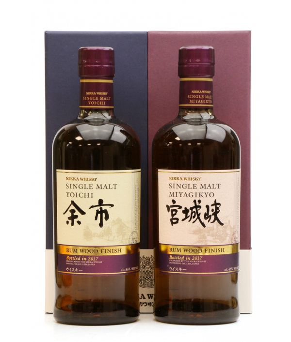 NIKKA Single Malt Yoichi & Single Ma...