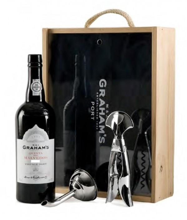 Set GRAHAM'S Quinta Malvedos Vintage 200...