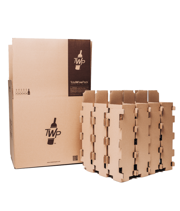 Transport Box TotalWinePack 12 Bottles