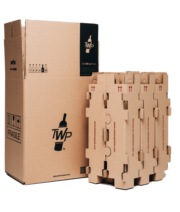 Transport Box TotalWinePack 6 Bottles