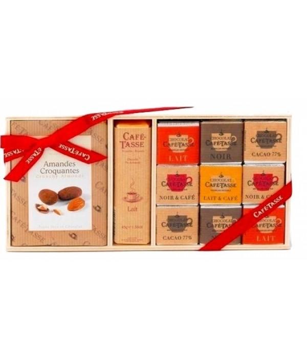Chocolate Box CAFÉ-TASSE Amandes Croqua...