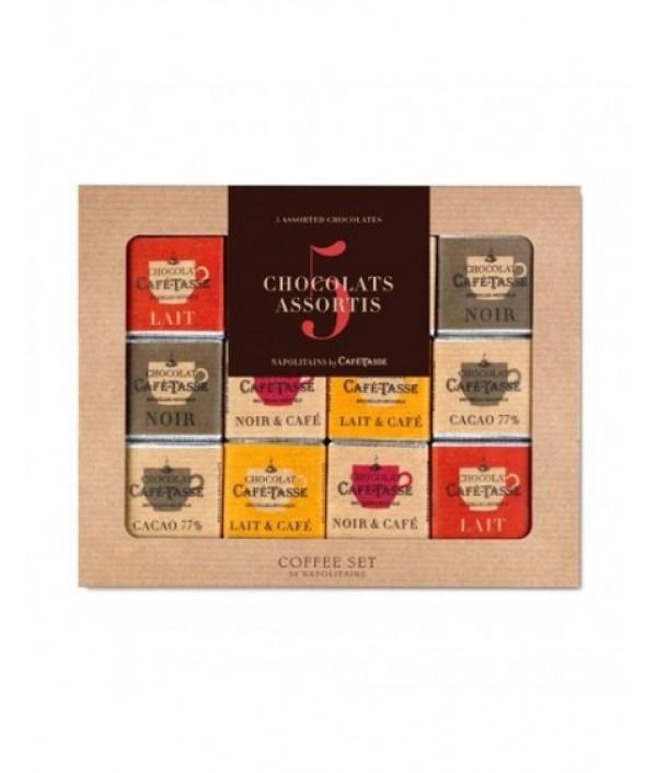 Chocolat CAFÉ-TASSE Napolitans Big