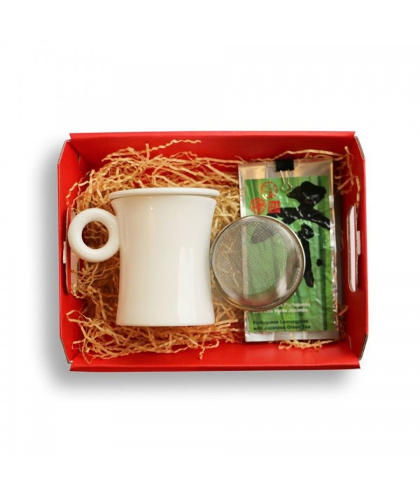 Set mug and filter + Green Tea CAMELIA H...
