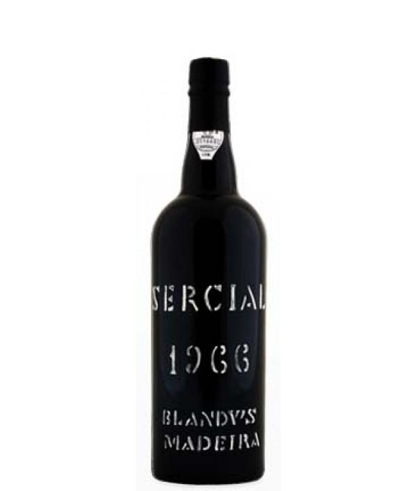 BLANDY'S Frasqueira Sercial 1966 - Madei...