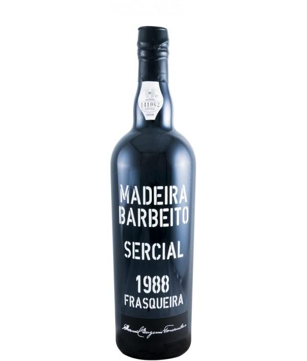 BARBEITO 1988 Sercial E.F. - Madeira Isl...